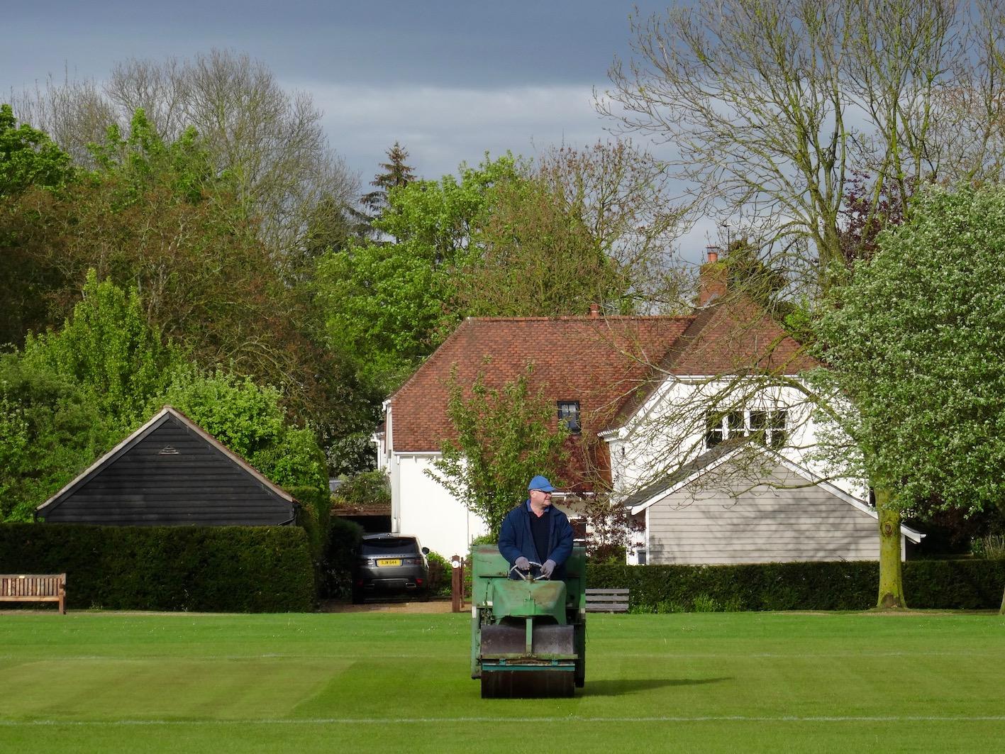 Barrington Cricket Green Cambridgeshire England.