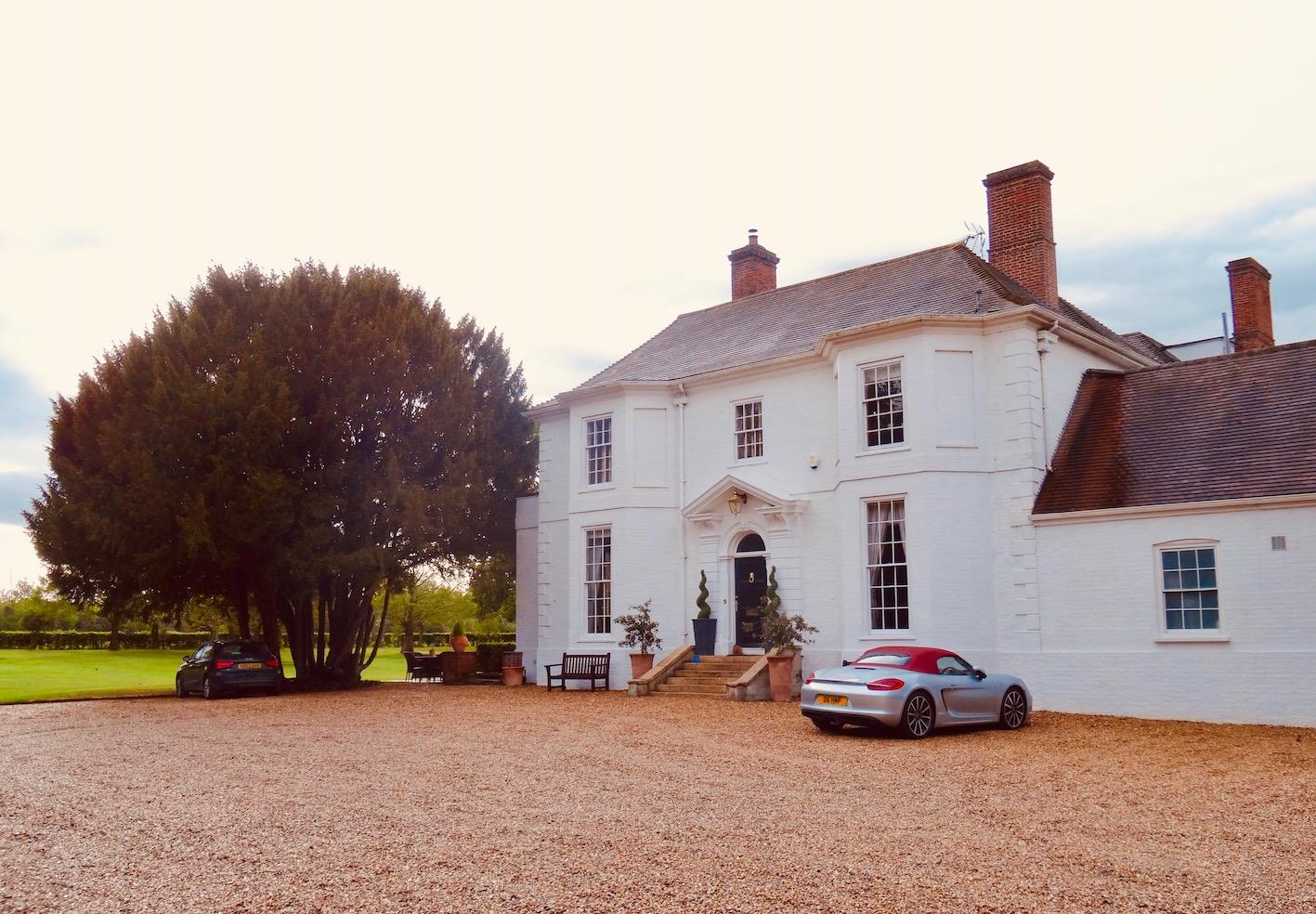 Barrington Hall Country House Cambridgeshire England.