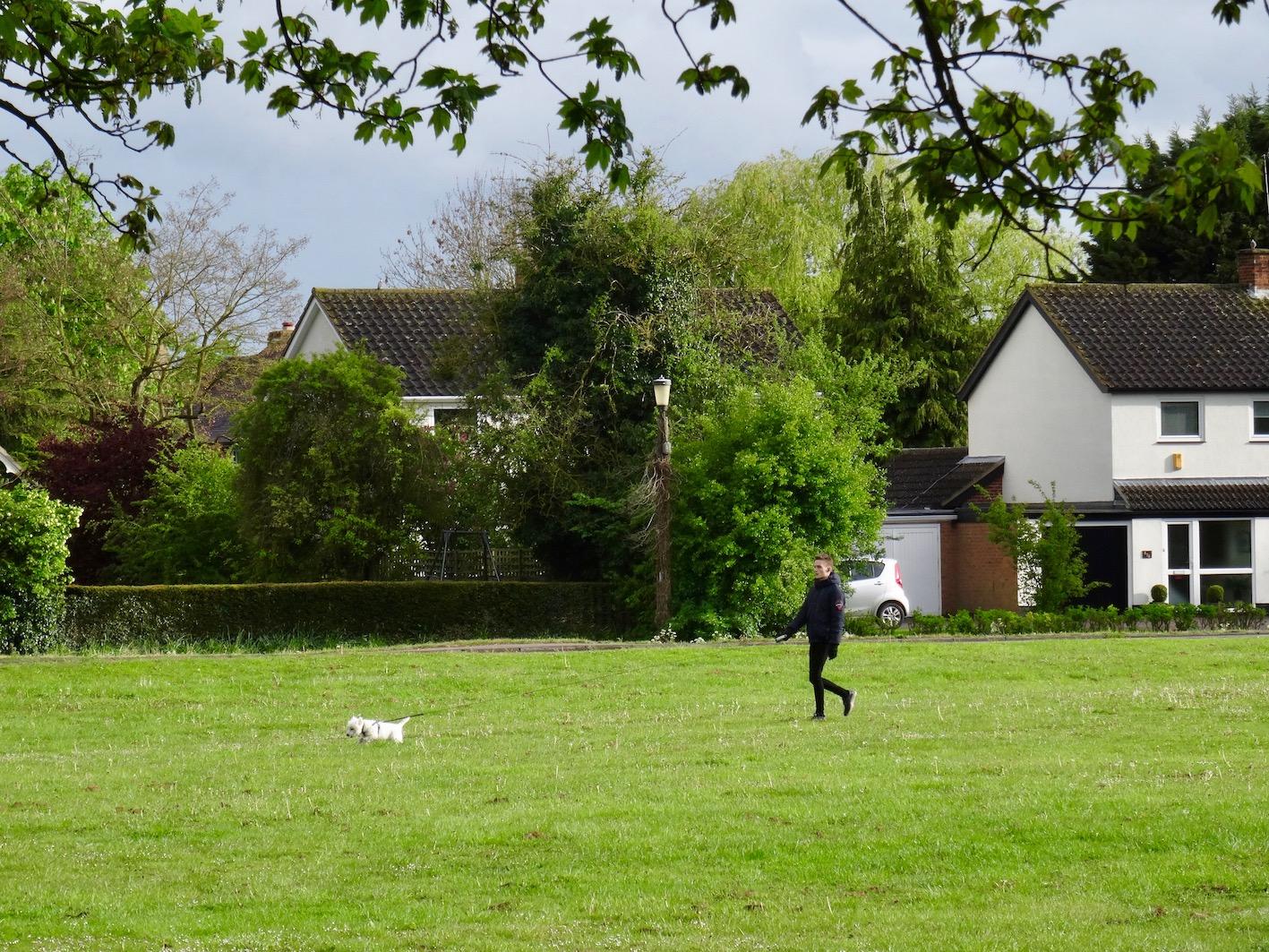 Barrington Village Green Cambridgeshire England.