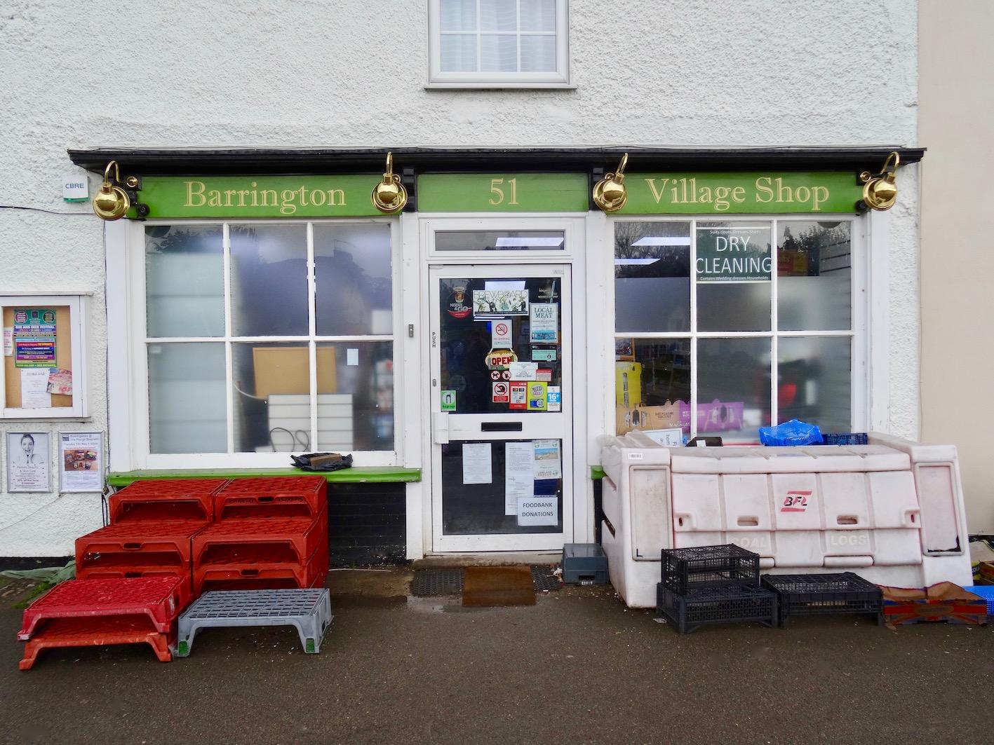 Barrington Village Shop Cambridgeshire.