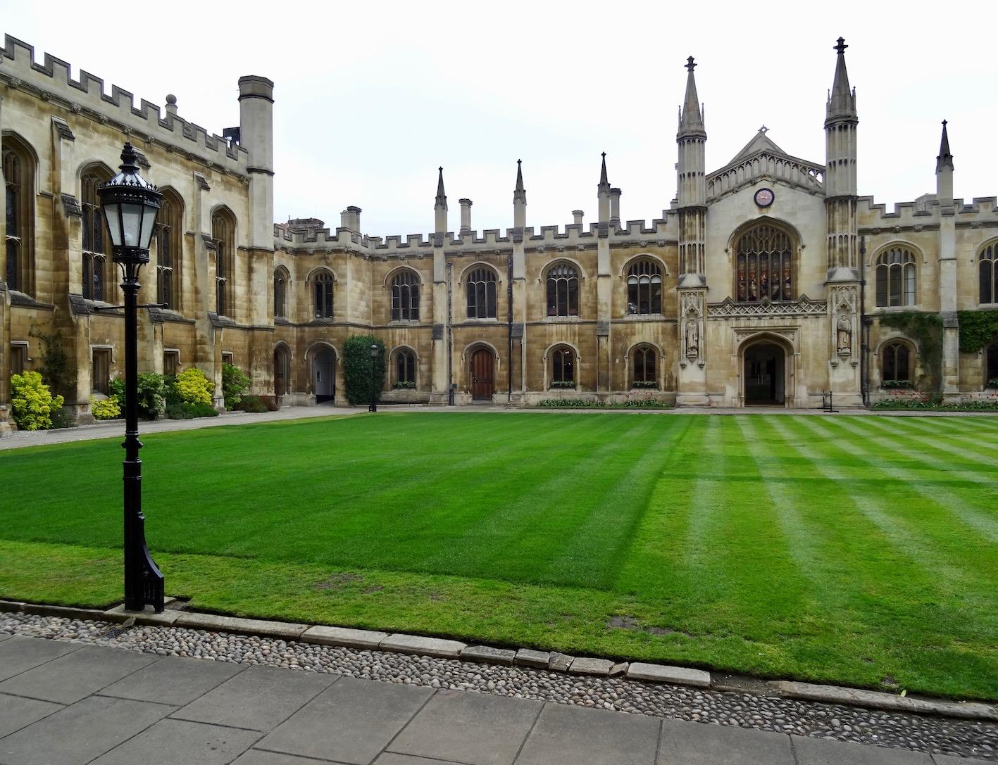 Corpus Christi College Cambridge England