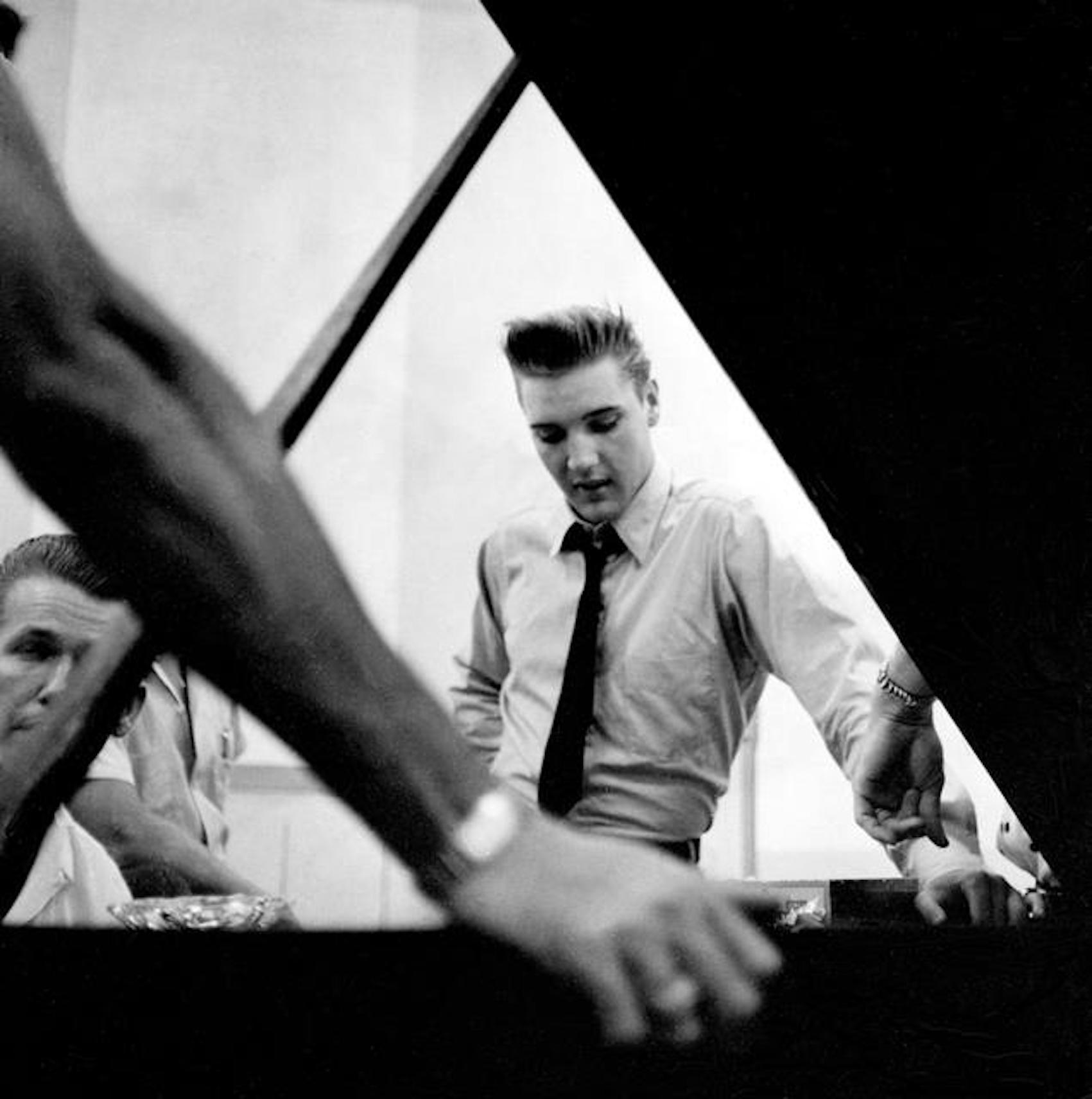 Elvis Steinway Piano RCA Studio B Nashville Tennessee.