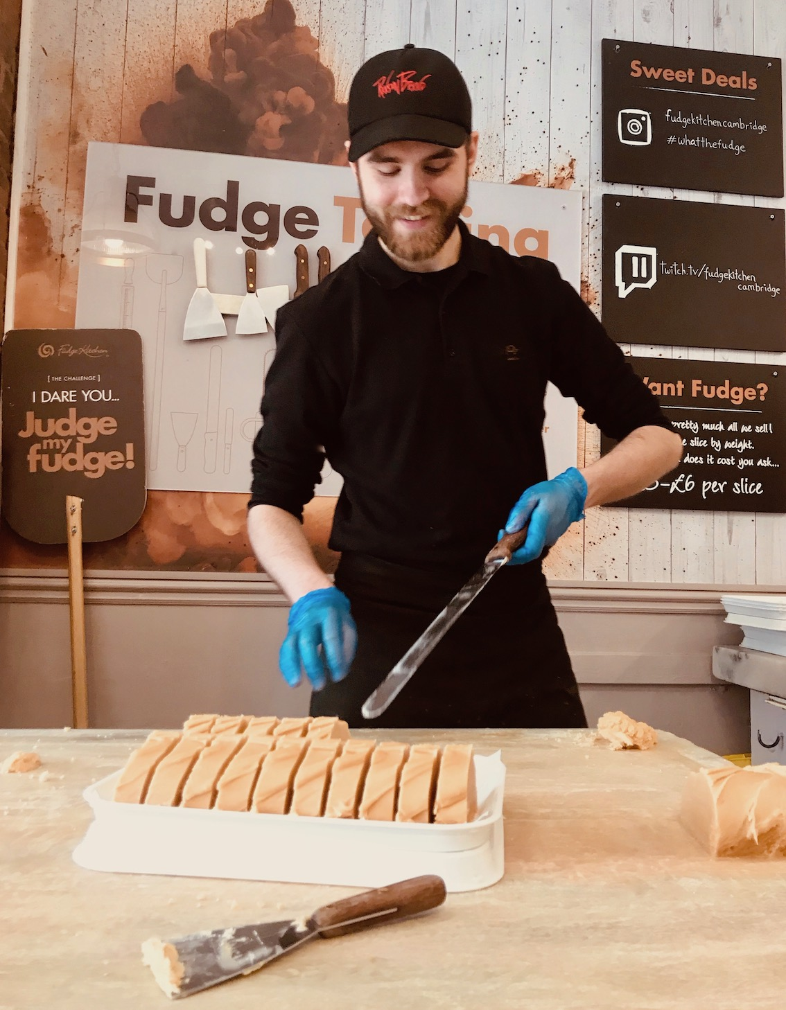 Fudge Kitchen Cambridge England.