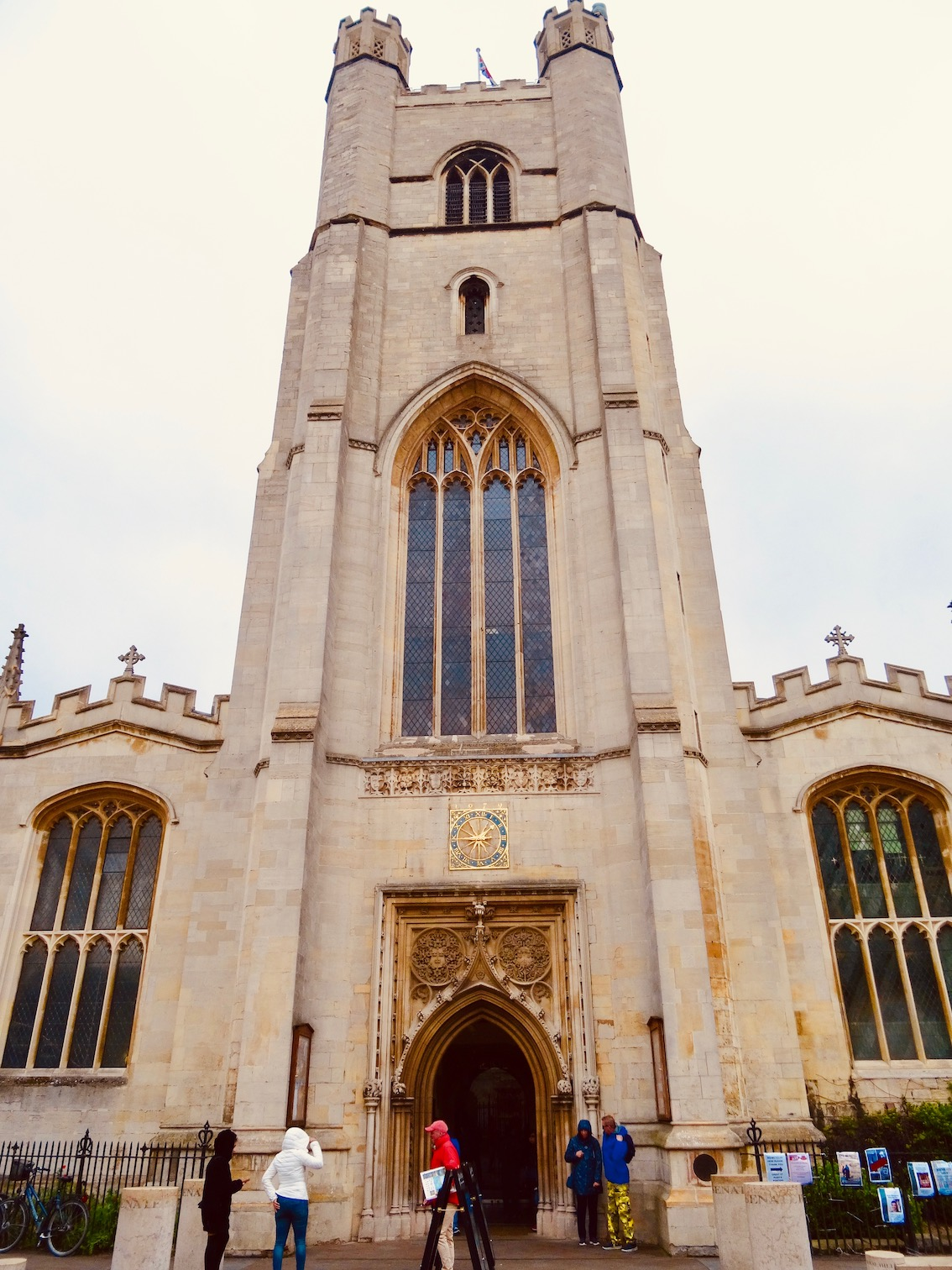 Great St. Mary's Church Cambridge.
