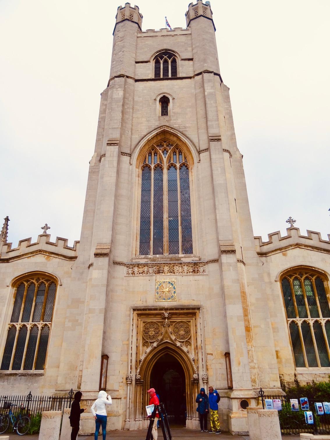 Great St. Mary's Church Cambridge.