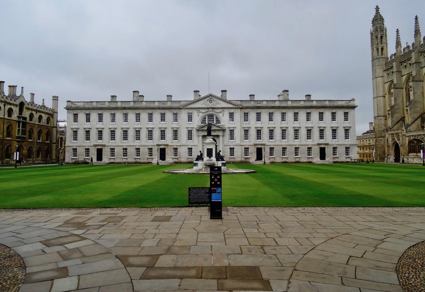 King's College Cambridge England.
