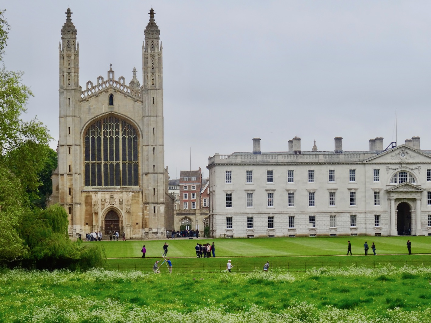 King's College Chapel from The Backs in Cambridge.