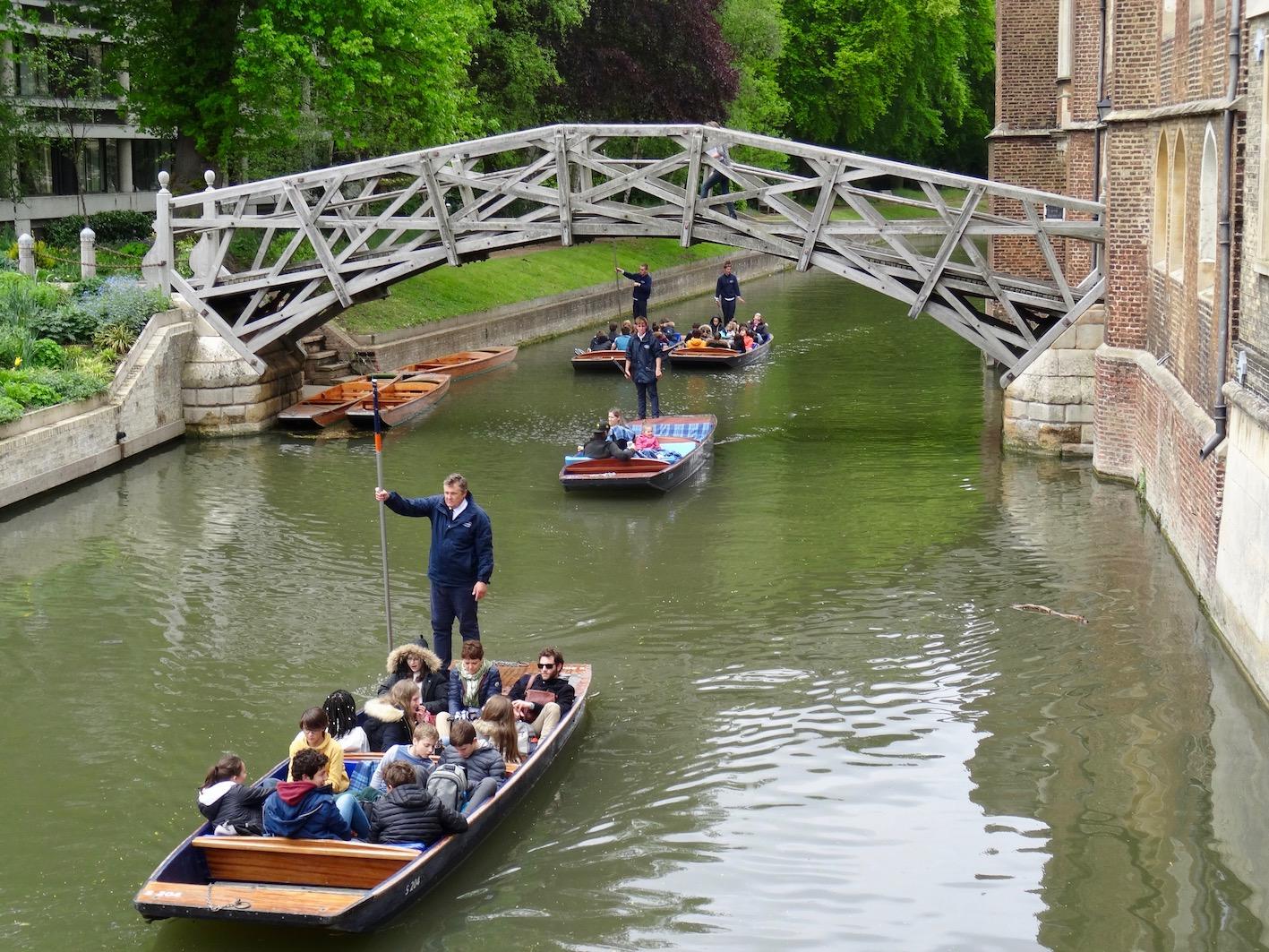Mathematical Bridge Cambridge England.