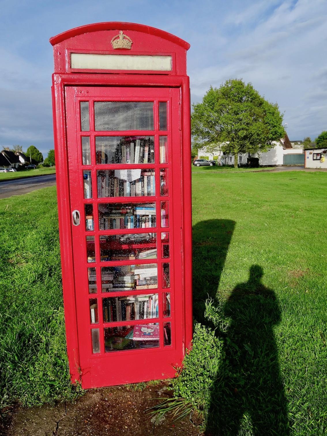 Red telephone box Barrington Cambridgeshire.