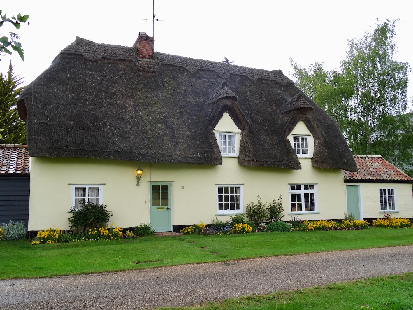Thatched cottage in Barrington Village Cambridgeshire.