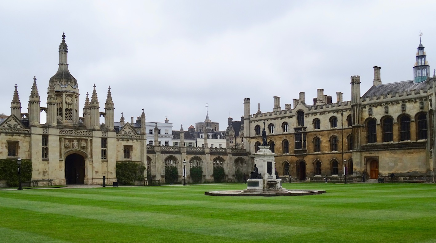 The Front Court King's College Cambridge.
