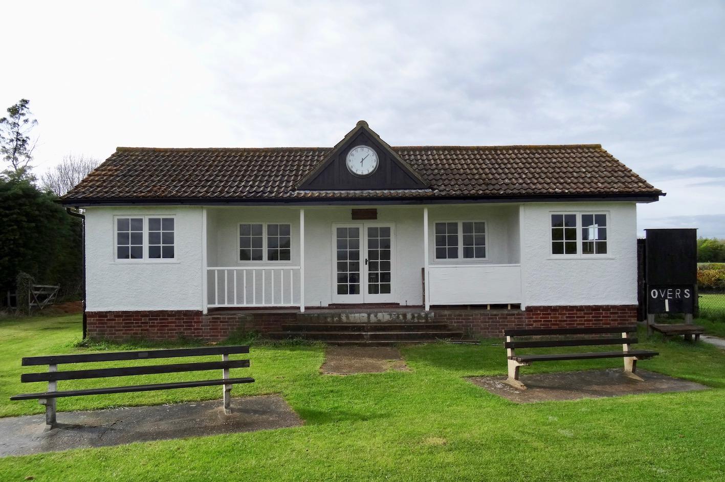The George Miller Pavilion at Barrington Cricket Club Cambridgeshire.