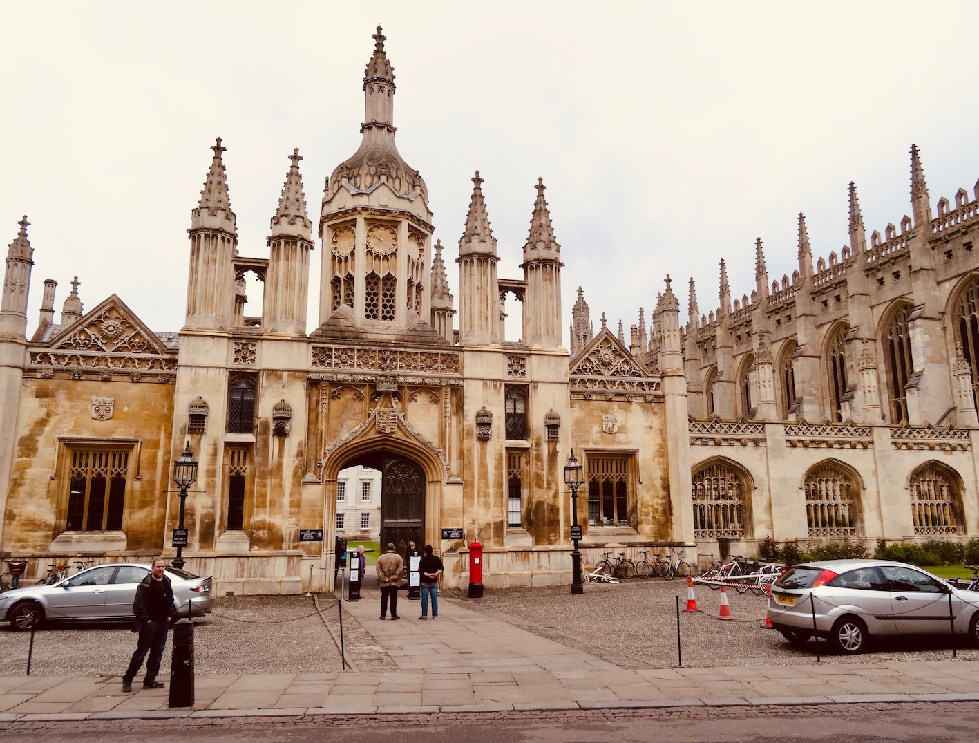Visit King's College and Chapel Cambridge.