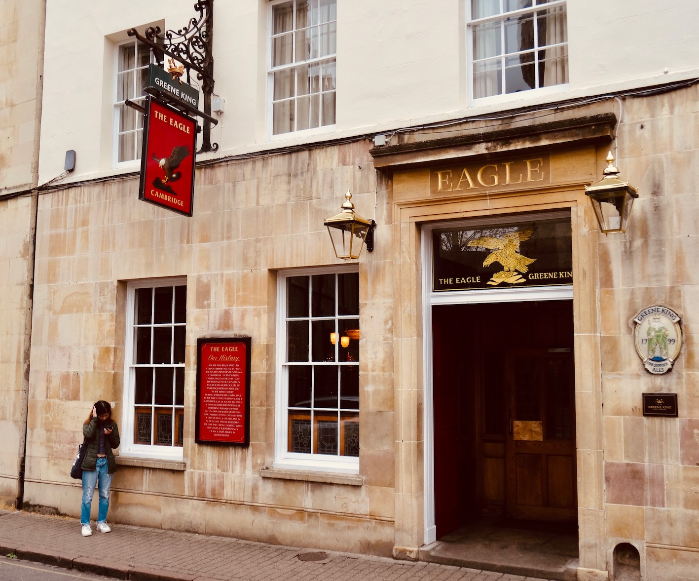 Visit The Eagle Pub Cambridge.