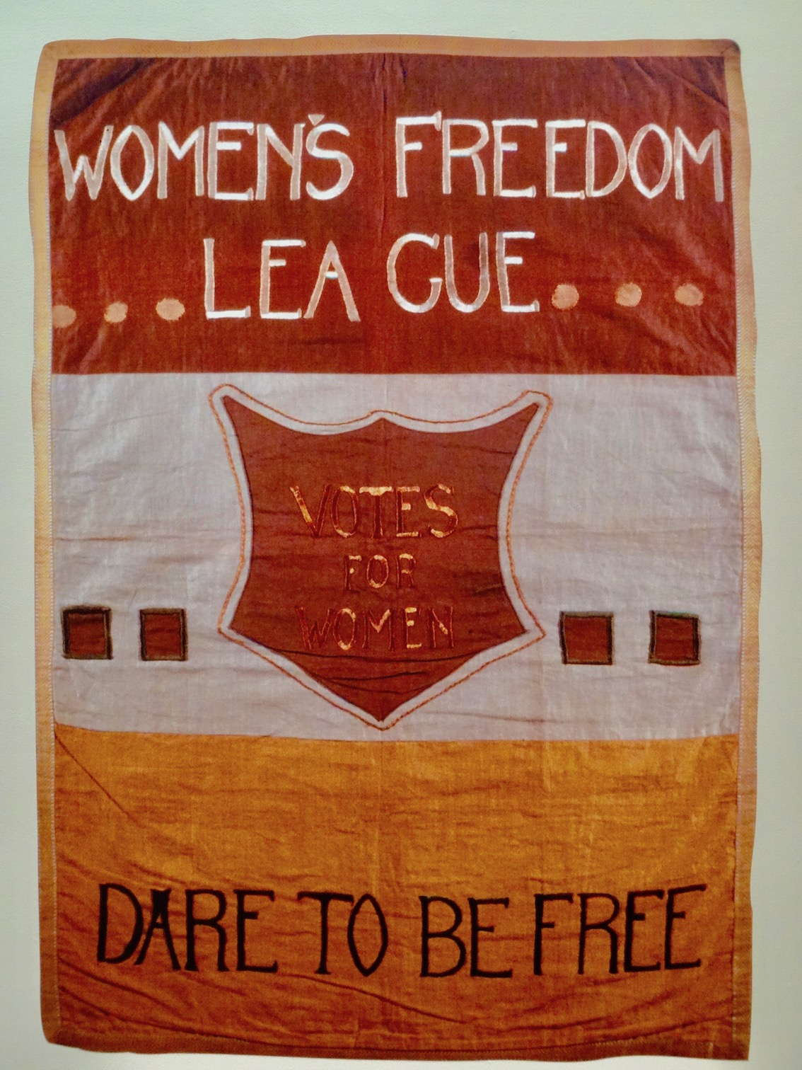 Women's Freedom League Dare to be Free Firstsite Colchester.