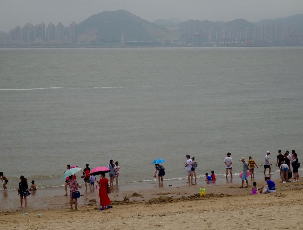 Baicheng Beach Xiamen Fujian Province