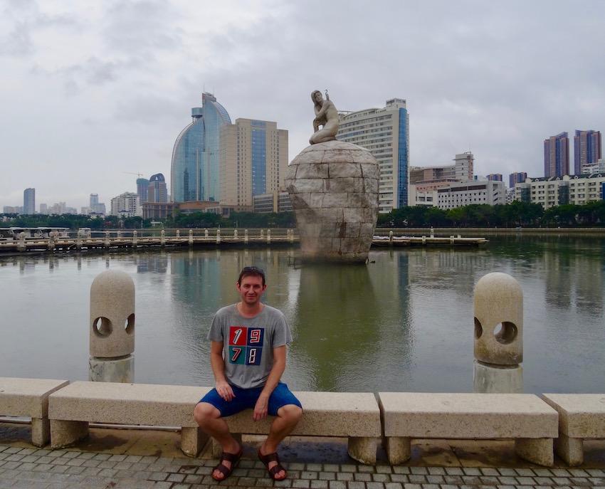 Bailuzhou Park Xiamen Fujian province China