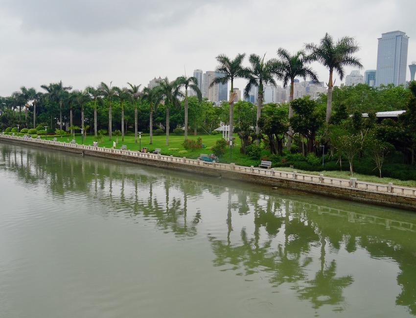 Bailuzhou Park Xiamen Fujian province China.