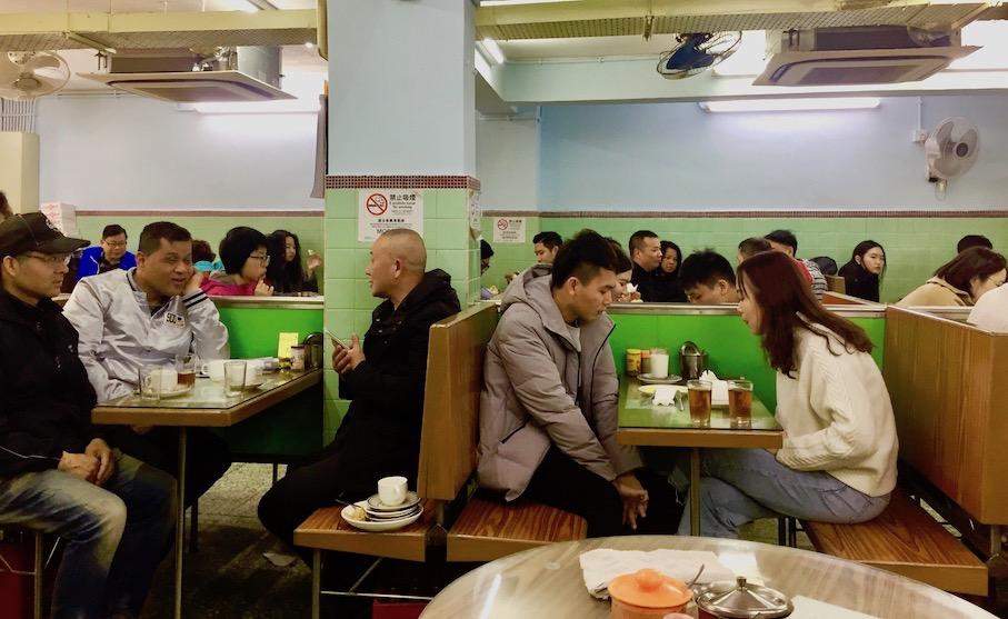 Breakfast at Nam Peng Cafe Macau.