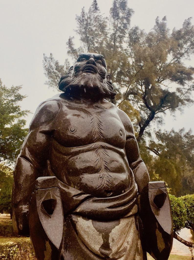 Chongwu Stone Arts Expo Park Fujian Province China.