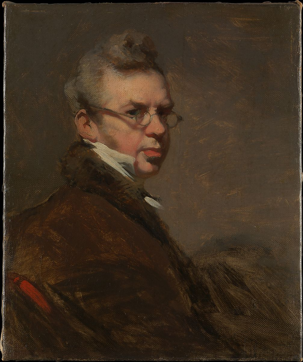 English painter George Chinnery self portrait.