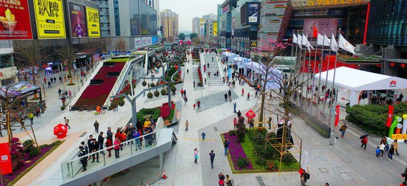 Huaqiangbei Electronics Market Shenzhen.