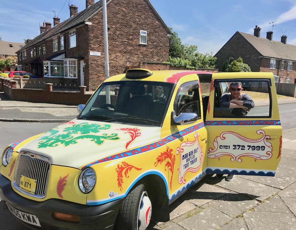 Mad Day Out Beatles Taxi Tours Liverpool.