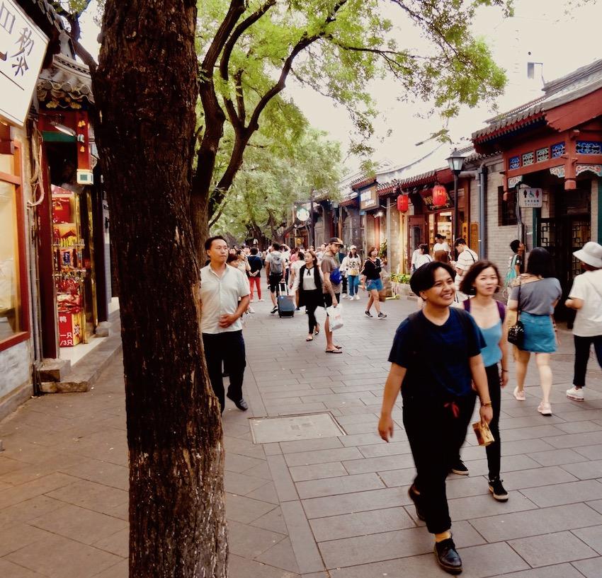 Nanluoguxiang Beijing.