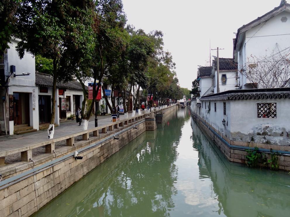 Pingjiang Road Suzhou China.