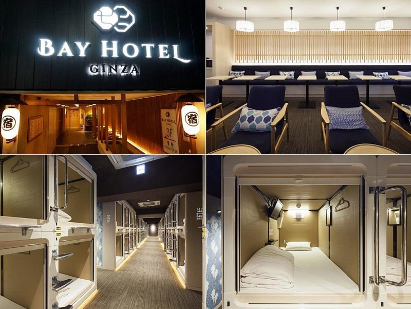 Review of The Ginza Bay Hotel Tokyo.