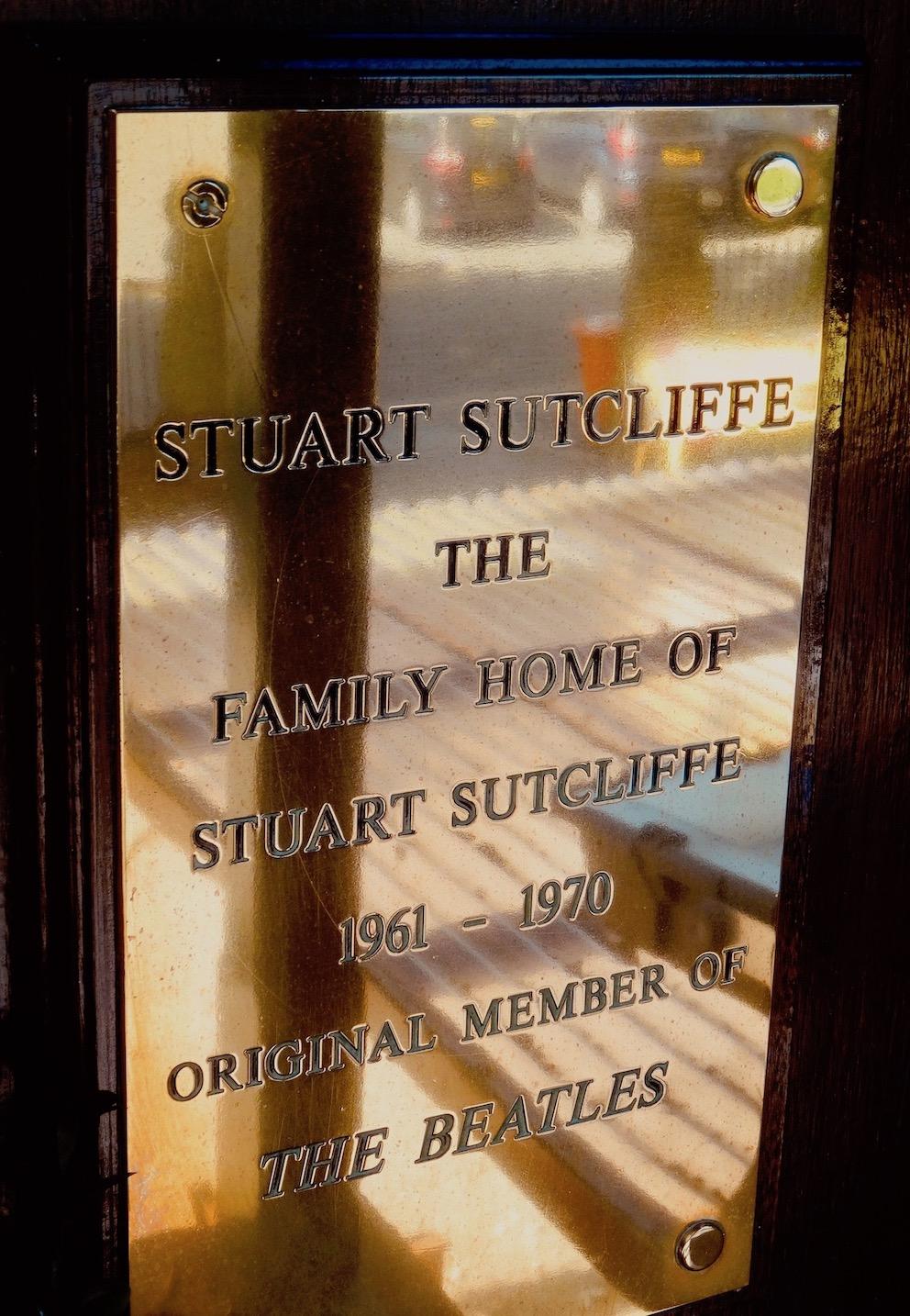 Sefton Park Hotel Stuart Sutcliffe's former home Liverpool.