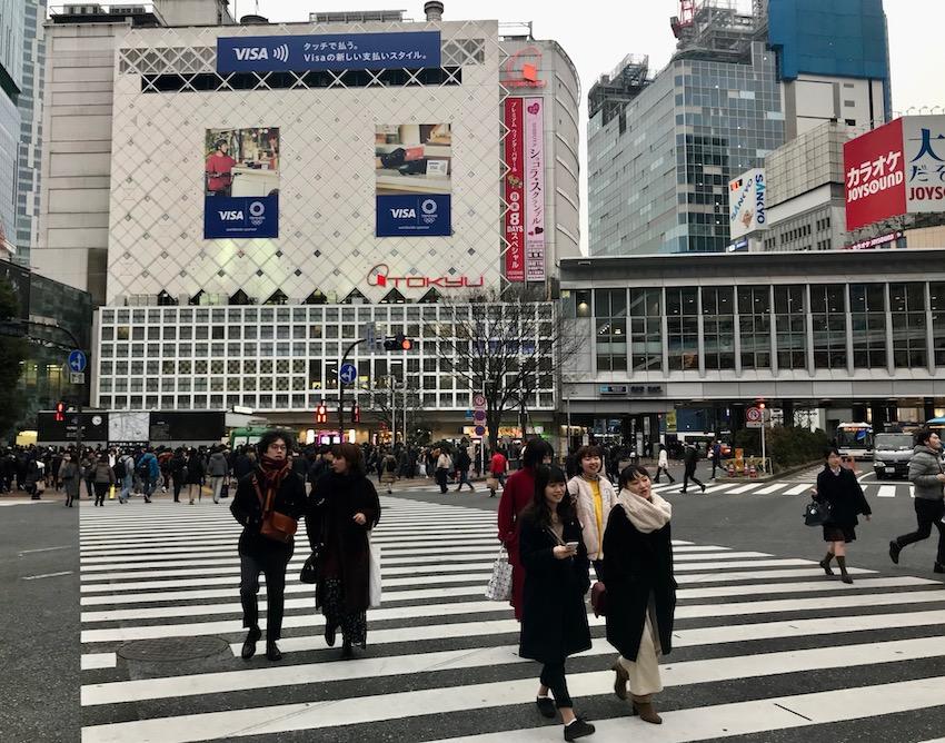 Shibuya Crossing Tokyo.