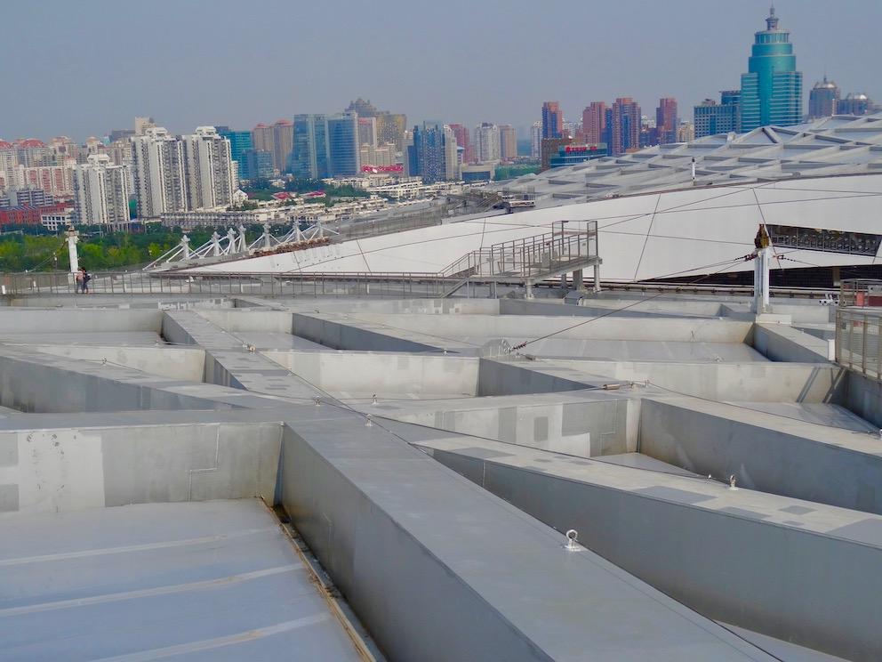 The Bird's Nest Air Corridor Top Wonder Beijing