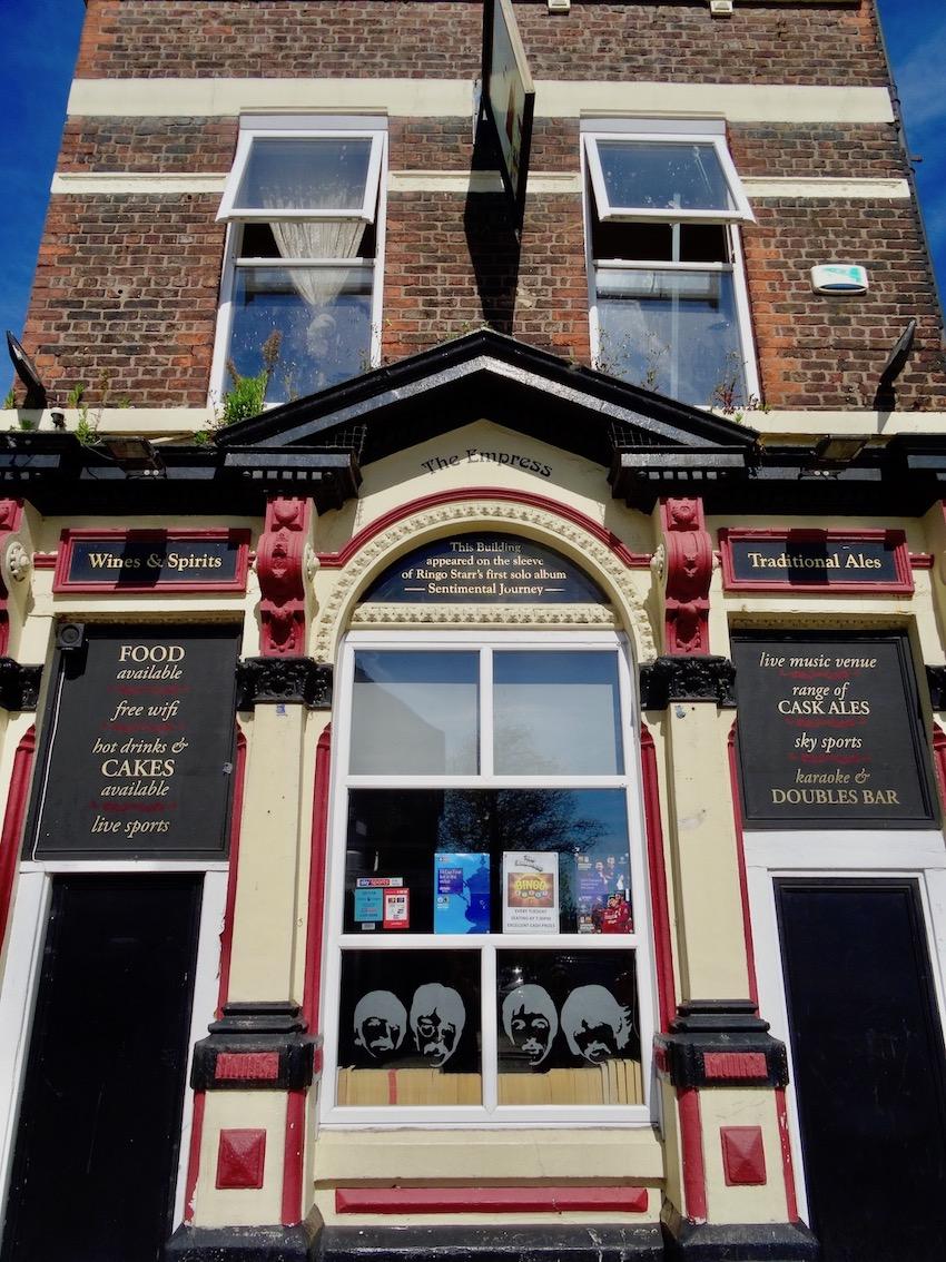 The Empress Pub Liverpool Ringo Starr Sentimental Journey.