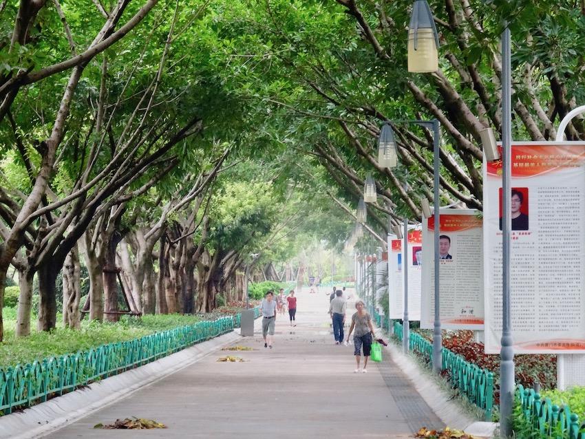 Visit Bailuzhou Park Xiamen China.