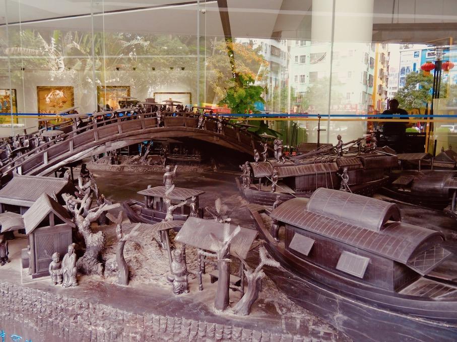 Visit Dafen Art Museum Shenzhen China.