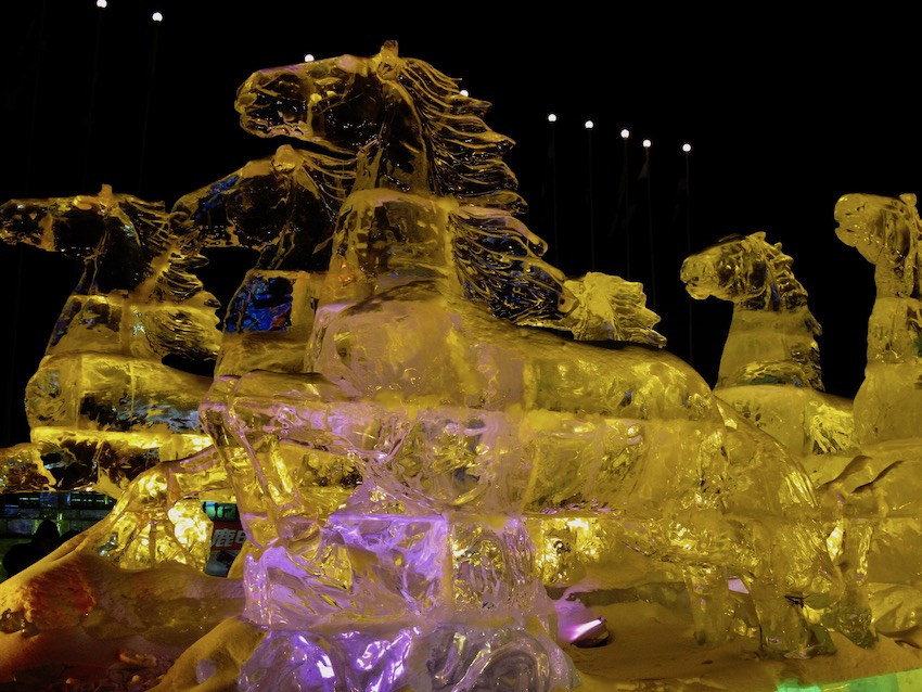 Visit Harbin Ice and Snow Sculpture Festival China.
