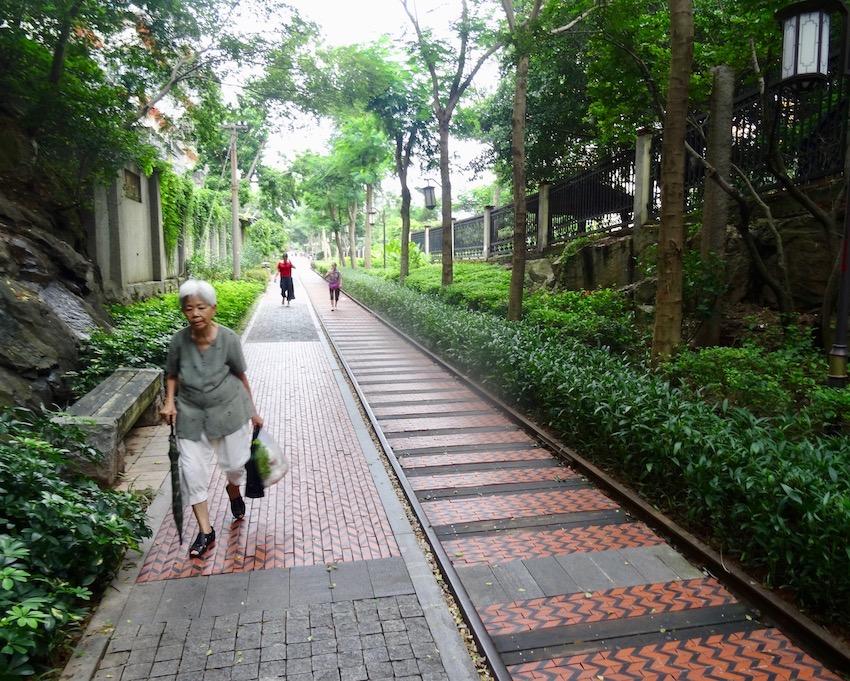 Visit Railroad Culture Park Xiamen China.