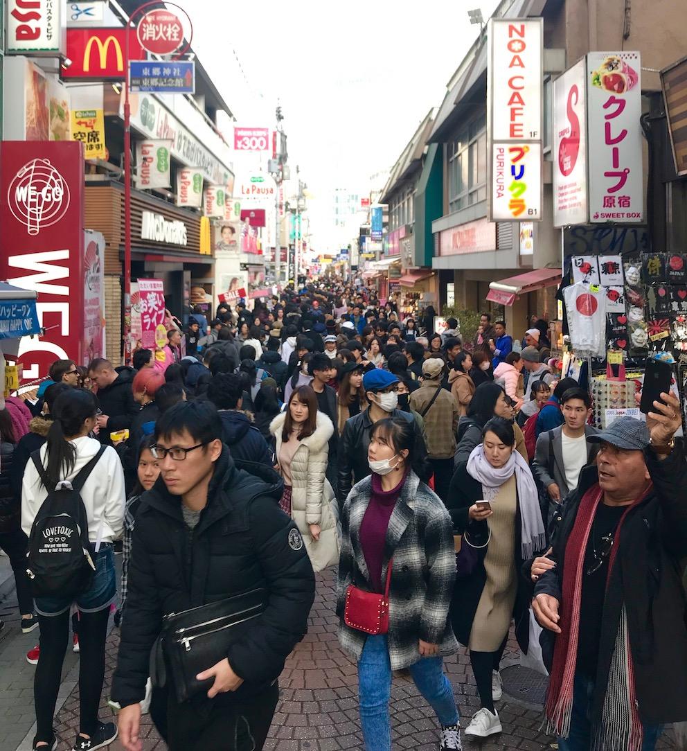 Visit Takeshita Street Tokyo.