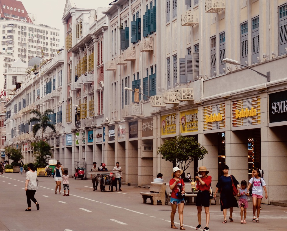 Visit Zhongshan Road Xiamen China.
