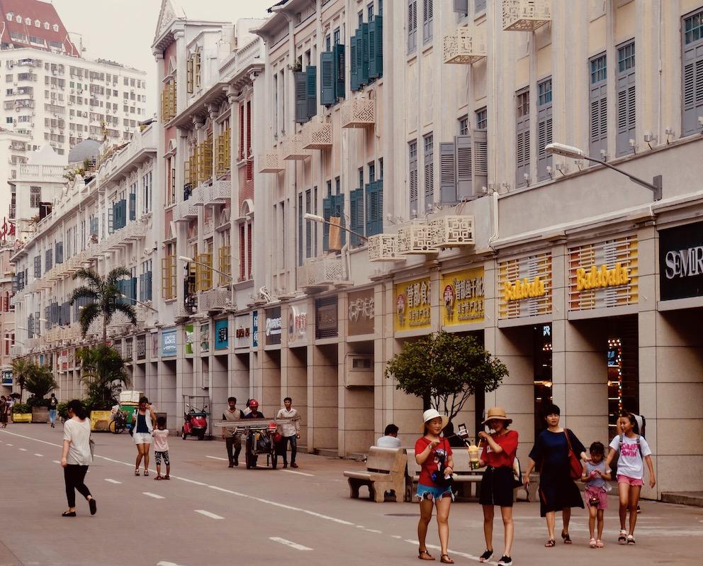 Visit Zhongshan Road Xiamen China.