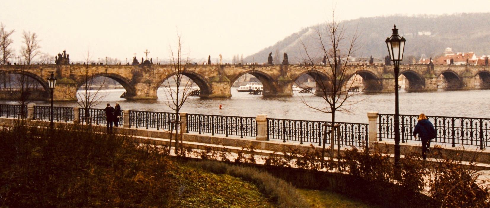 Charles Bridge December 2002.