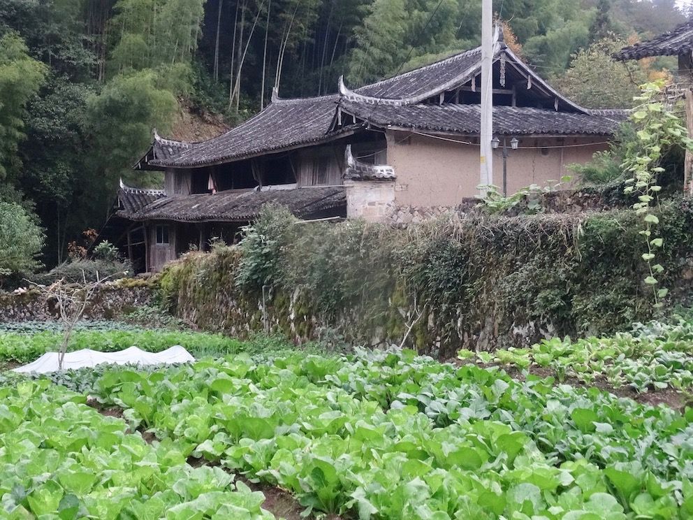 Farmhouse Xu Ao Di Village Taishun County China.