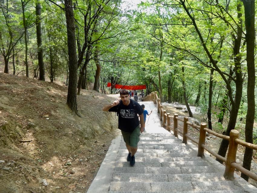 Hike The Great Wall Mutianyu China.
