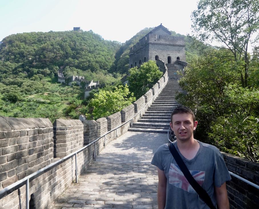 Hiking The Great Wall of China Tiger Mountain Dandong.