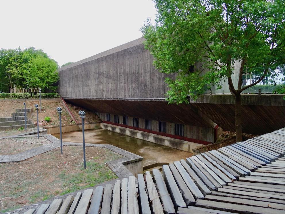 Jinhua Architecture Park Zhejiang Province China.