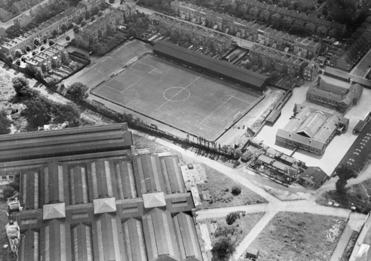 Loftus Road Queens Park Rangers 1928.