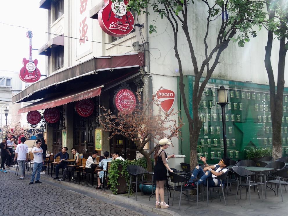 Music club Laowaitan Ningbo China.
