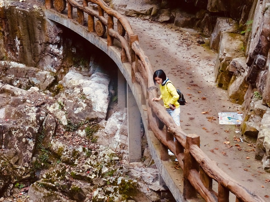 Nanpuxi Scenic Park Taishun County China.
