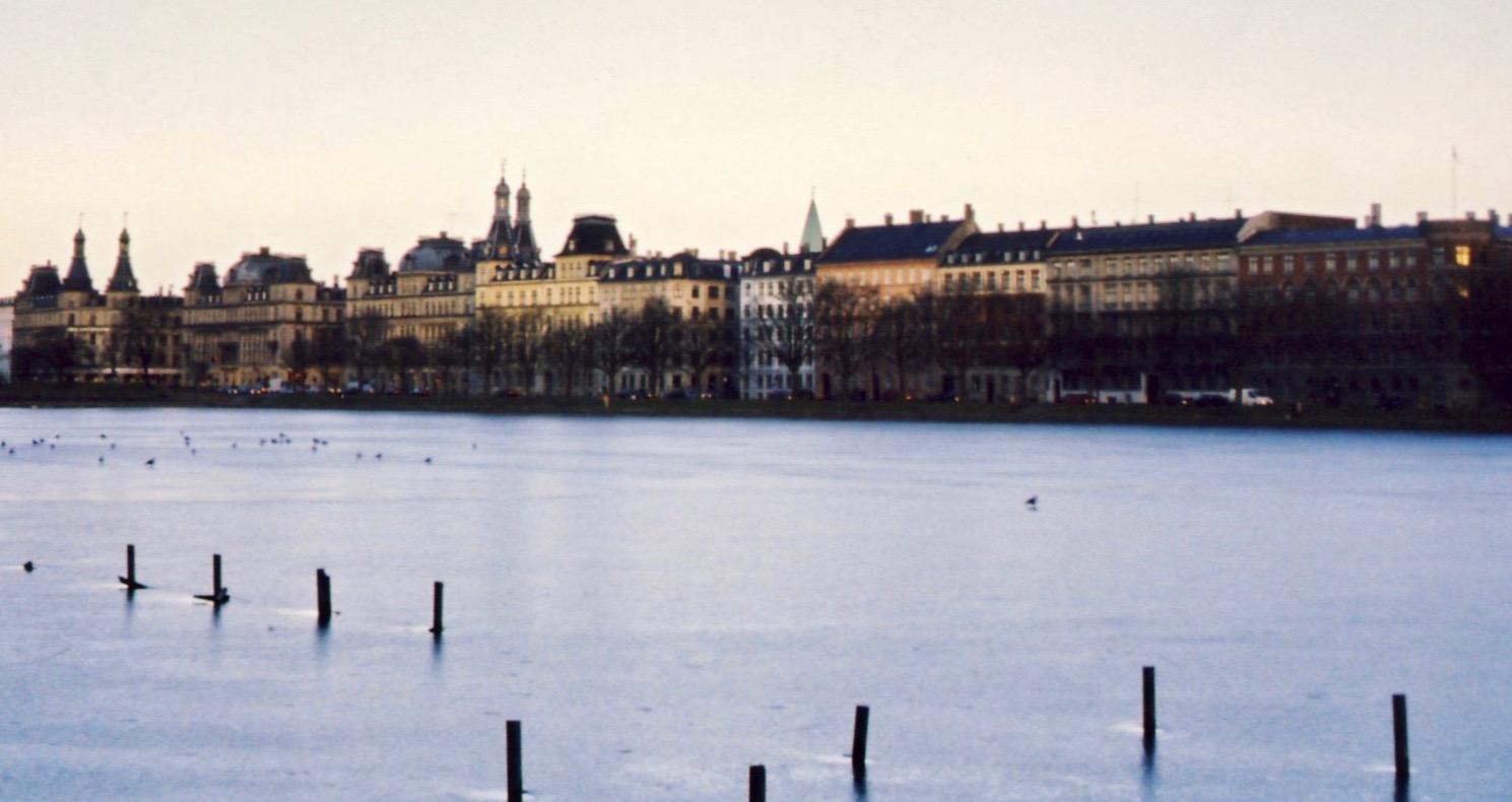 Nyhavn Waterfront Copenhagen Denmark.